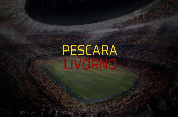 Pescara - Livorno maçı öncesi rakamlar