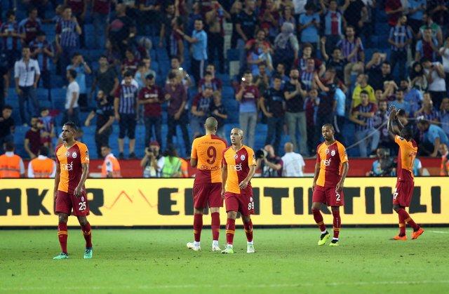 Fatih Terim, 6-0'dan sonra ilk kez... İşte Trabzonspor Galatasaray maçının rakamları