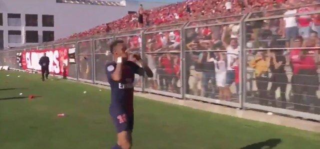 Herkes, Neymar'ın gol sevincini konuşuyor!