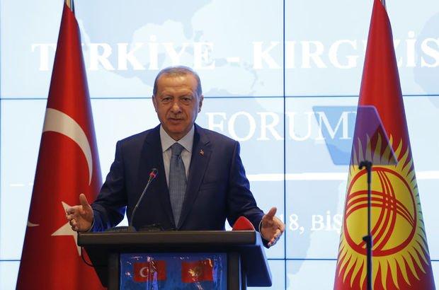 Recep Tayyip Erdoğan Kırgızistan