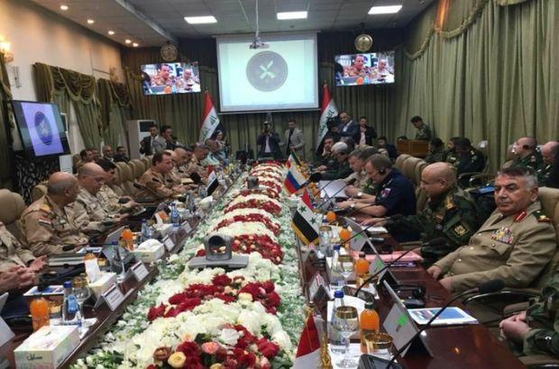 Bağdat'ta 4'lü güvenlik zirvesi!