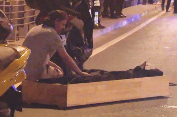 E-5 Otoyolu Mecidiyeköy trafik kazası