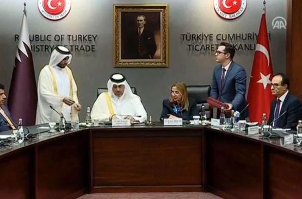 Katar ile Türkiye arasında çok önemli imza