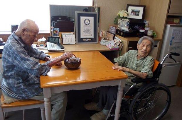 En yaşlı çift rekoru
