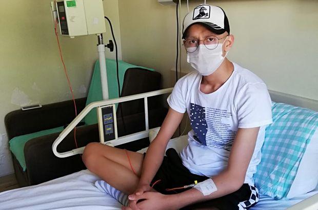 Futbol hayatı tümöre takıldı! Hayali Muslera'yla tanışmak