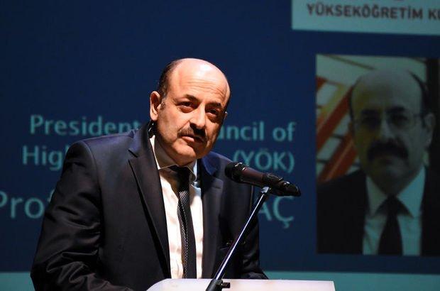 YÖK Başkanı'ndan 'kontenjan' açıklaması