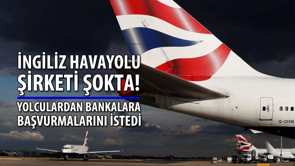 İngiliz havayolu şirketi şokta!