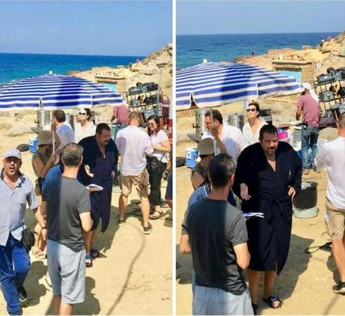 Demirer'in yeni filminde Gökçeada plajından görüntüler de bulunuyor.