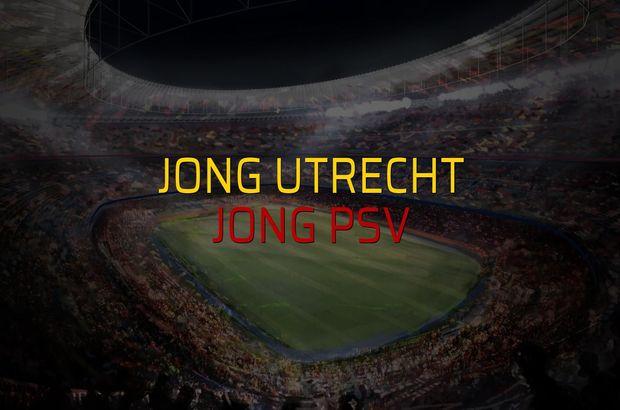 Jong Utrecht - Jong PSV karşılaşma önü