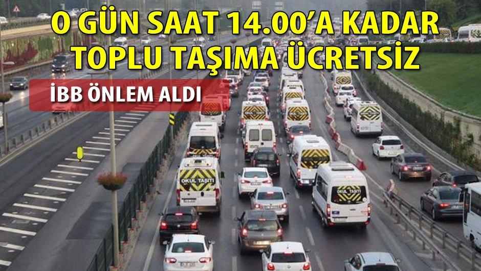 İstanbul'da 'ders başı' önlemleri!