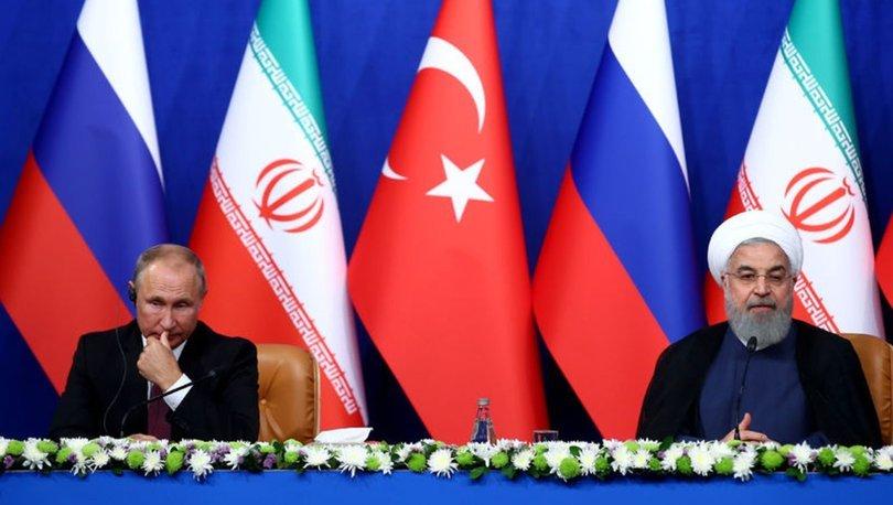 Son dakika: 3lü zirvenin ardından Putin ile Ruhani görüştü