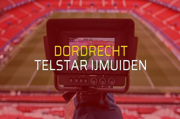 Dordrecht - Telstar Ijmuiden maçı ne zaman?