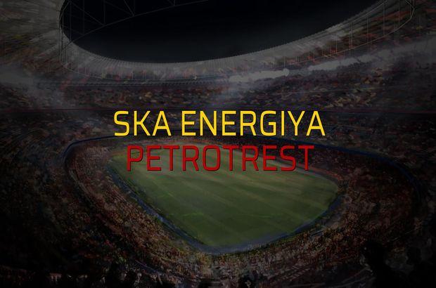 SKA Energiya - Petrotrest düellosu