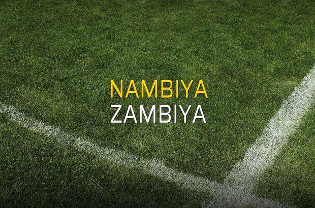 Nambiya - Zambiya sahaya çıkıyor