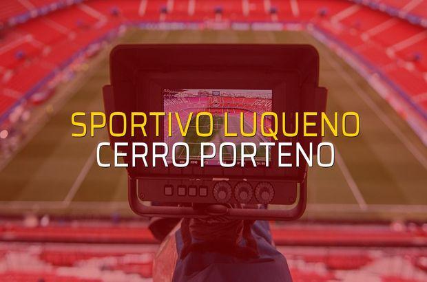 Sportivo Luqueno - Cerro Porteno rakamlar