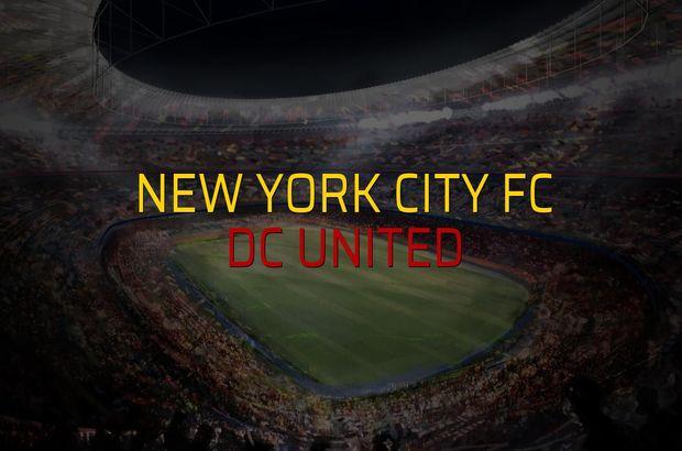 New York City FC - DC United düellosu