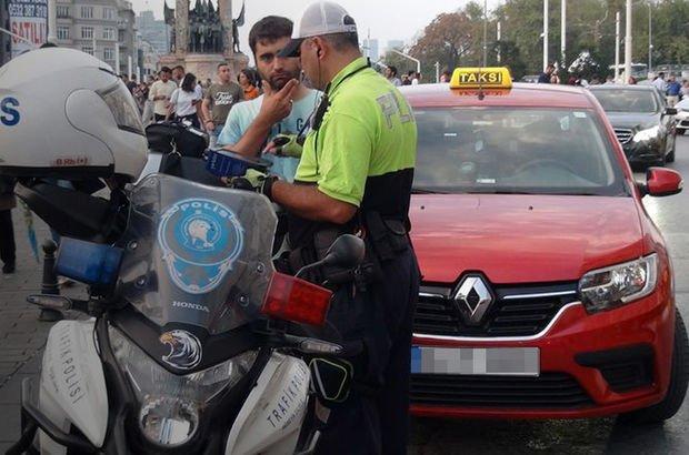 taksi şoförü Taksim meydanı