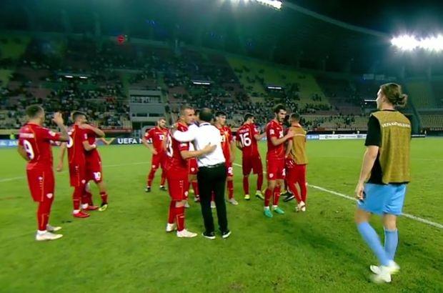 Eljif Elmas'lı Makedonya, Ermenistan'ı yendi