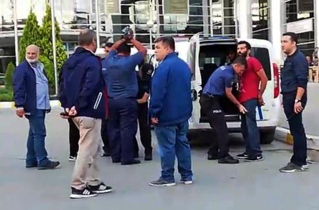 Polis ile şüpheli yakınları arasında arbede: Yaralılar var