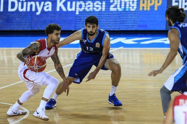 A Milli Basketbol Takımı, hazırlık maçında Türk Telekom'u mağlup etti