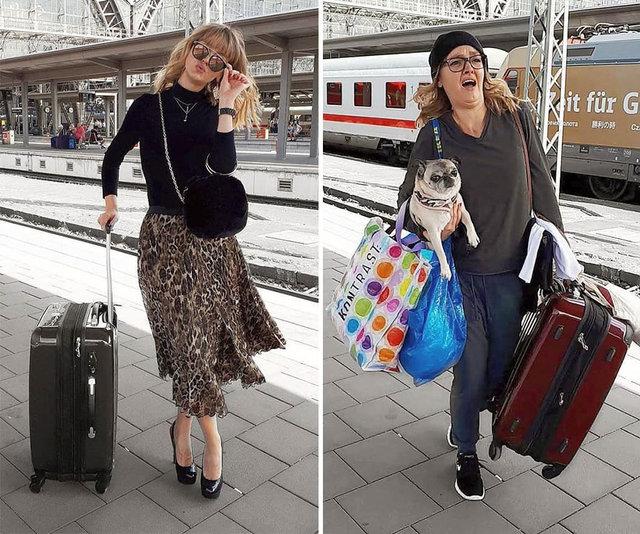 Alman blogger Geraldine West Instagram hilelerini paylaştı
