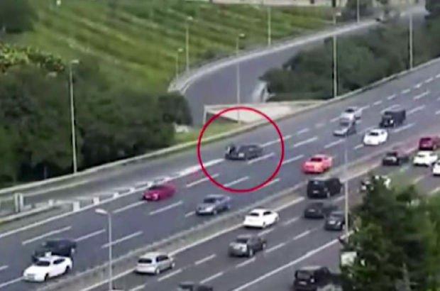 E-5'te motosikletli gencin feci ölümü