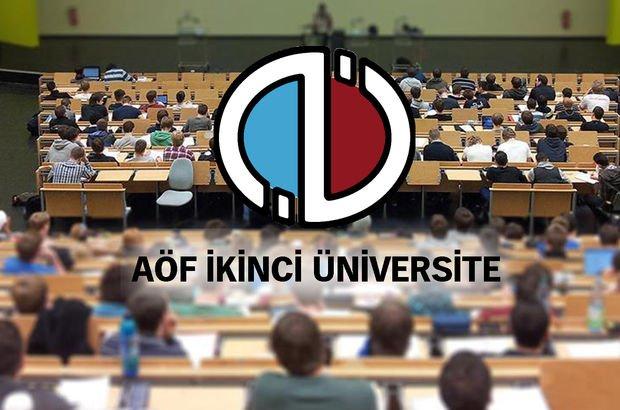AÖF ikinci üniversite