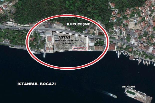 İBB, Boğaz'a sıfır arsasını sattı