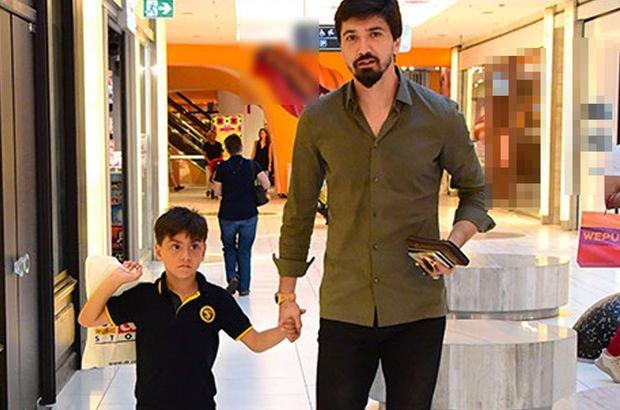 Tolga Zengin oğluyla oyuncak alışverişi yaptı