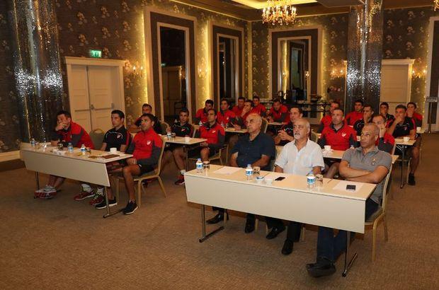 Süper Lig Hakem Semineri  Türkiye Futbol Federasyonu   Merkez Hakem Kurulu