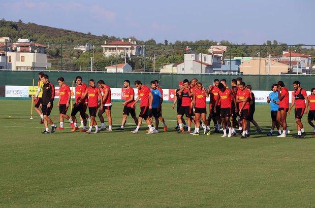 Göztepe'de Kayserispor maçı hazırlıkları devam ediyor