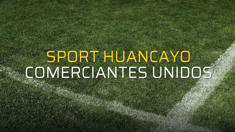 Sport Huancayo - Comerciantes Unidos maçı heyecanı