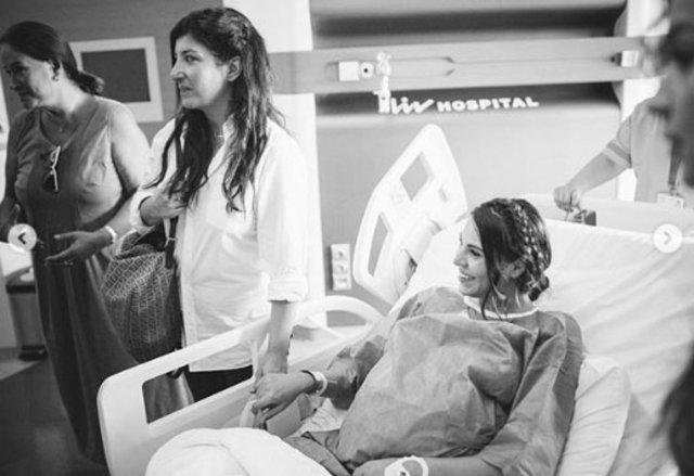 Şükran Ovalı doğum fotoğraflarını paylaştı - Magazin haberleri