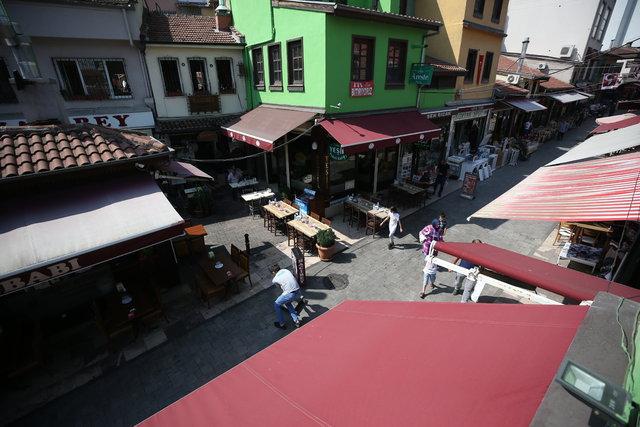 Bursa'nın meşhur lezzet durağı: Tarihi Kayhan Çarşısı