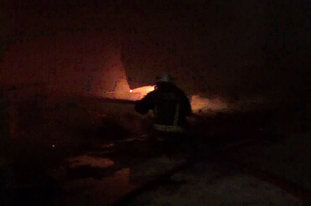 İnegöl fabrika yangını