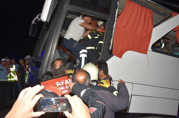 otobüs kazası
