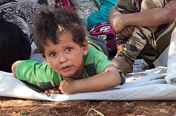 İdlib köylerinde göç