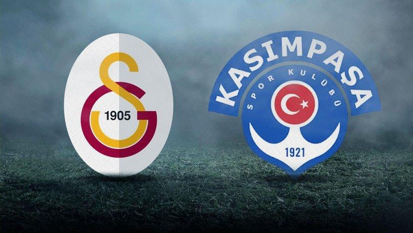 Galatasaray - Kasımpaşa maçı ne zaman? GS Kasımpaşa maçı saat kaçta, hangi kanalda?
