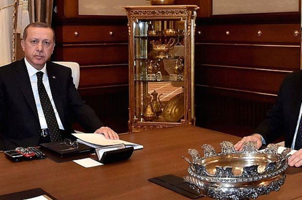 Cumhurbaşkanı Erdoğan, Fidan ile görüştü