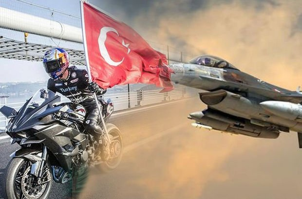F-16 vs Sofuoğlu!