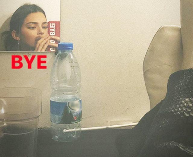 Kendall Jenner, Türk suyu içiyor - Magazin haberleri