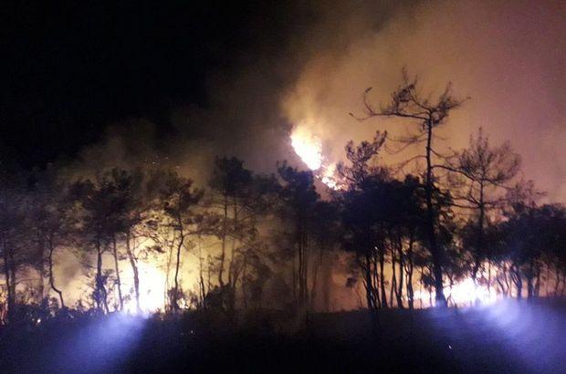 Marmaris'te 10 hektar orman yok oldu!