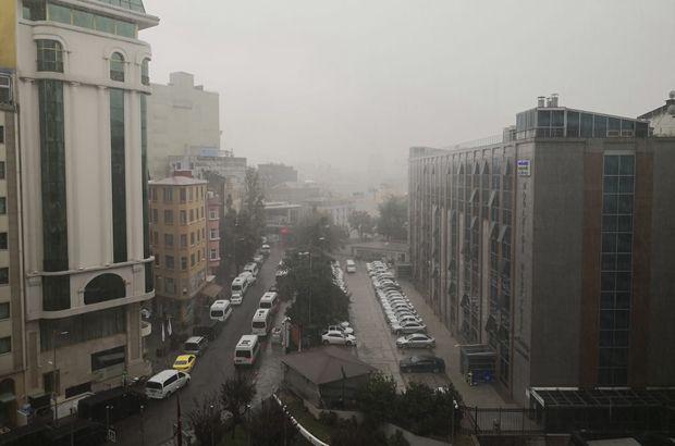 İstanbul'da bir anda göz gözü görmedi!