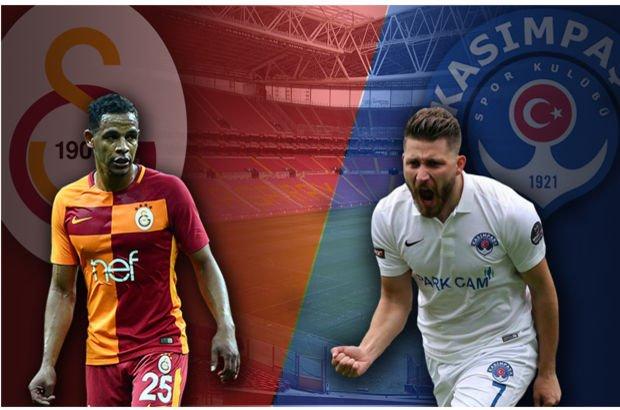 Galatasaray Kasımpaşa maçı ne zaman, saat kaçta?