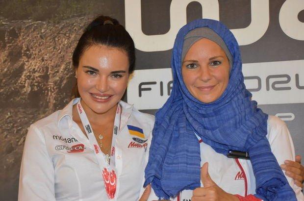 Dünya Ralli Şampiyonası Burcu Çetinkaya Bucak   Inessa Tushkanova