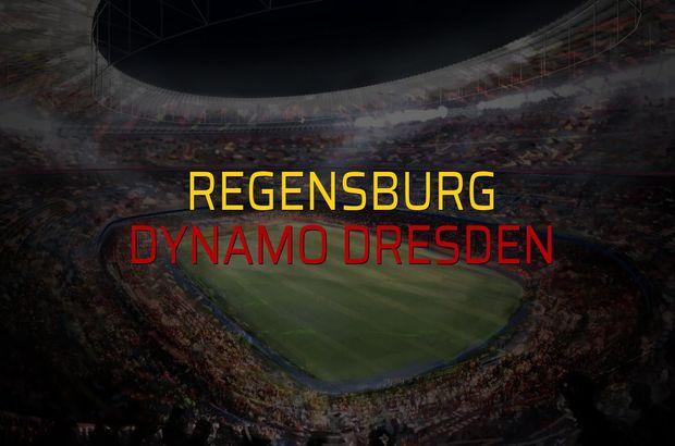 Regensburg - Dynamo Dresden karşılaşma önü