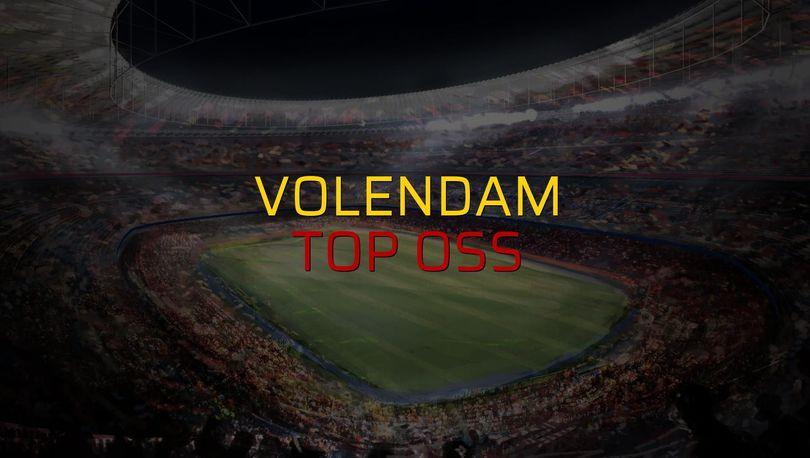 Volendam - Top Oss maçı istatistikleri