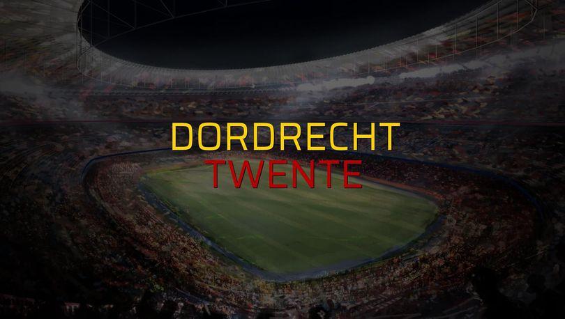 Dordrecht - Twente düellosu