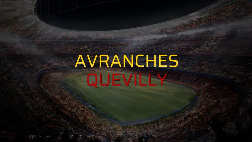 Avranches - Quevilly rakamlar