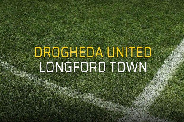 Drogheda United - Longford Town maçı öncesi rakamlar